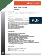 Physical Security Checklist