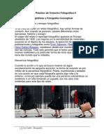 Creación Fotográfica II Clase 3 Serie y Conceptual