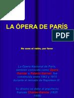 Francia - Opera de Paris y Nana Mouskouri