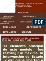 Estado Liberal 1870 a 1940 en Costa Rica