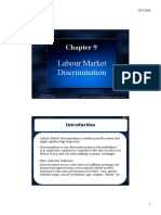 Labor Market Discrimination