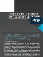 Evolucion Doctrinal de La Determinacion Contreras