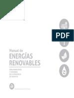 Manual de Energías Renovables de La Provincia de Santa Fe