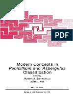 Modern Concepts In penicillium and aspergillus classification