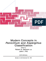 Modern Concepts In penicillium and aspergillus classification