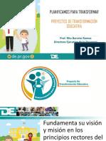 Presentacion Proyectos Transformacion Esucativa