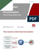 How to Obtain Huawei Documentation