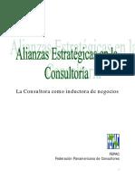 Alianzas Estrategicas en La Consultoria