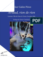 Artaud, Rien de Rien