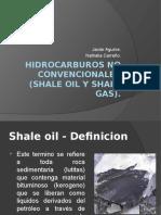 HIDROCARBUROS NO CONVENCIONALES (SHALE OIL Y SHALE.pptx