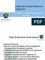 HRM in Developing Countries