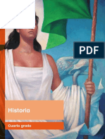 Primaria Cuarto Grado Historia Libro de Texto