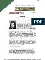 1999 PublishersWeekly Osho