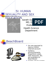 Human Sexuality Chapter- 1