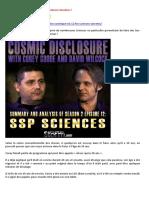21-08-2016-Divulgation Cosmique n°2-12-Les Sciences Secrètes !-A-LIRE
