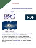 24-08-2016-Divulgation Cosmique-De l'Autre Côté Du Voile Du Secret-A-LIRE