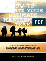 How to Create Your Ultimate Mastermind Team Workbook Final 082715