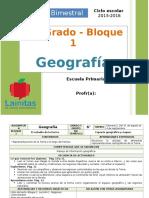 Plan 6to Grado - Bloque 1 Geografía (2015-2016).doc