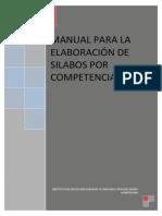 Manual Elaboracion de Silabo 2014