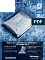 Panasonic Toughbook CF-19 - Fisa Tehnica