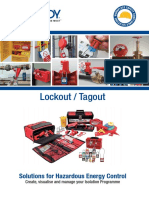 X&M Lockout Tagout catalogue