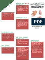 Leaflet Diet Purin