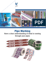 X&M pipe marking catalogue