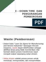 2_e – Down Time Dan Pengurangan Pemborosan