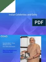 Indian Politicians & Celebrities Osho 2016