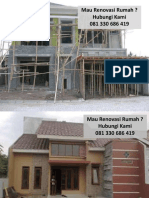 Membangun Rumah Mewah Gresik 081 330 686 419
