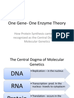 One Gene- One Enzyme Theory 2016 EHSS