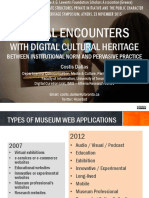 Costis Dallas (2015) Social Encounters With Digital Cultural Heritage