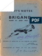 Bristol Brigand Flight Manual