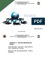 Clase Unidad v REDES