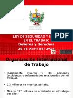 1 Ley de Seguridad y Salud Seminario