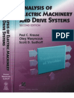 Paul C. Krause, Oleg Wasynczuk, Scott D. Sudhoff Analysis of Electric Machinery and Drive Systems (2nd Edition) 2002