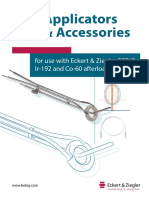 Applicators and Accessories Catalog, Rev.07, English