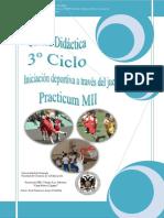Unidad Didc3a1ctica Iniciacic3b3n Deportiva Practicum Mii