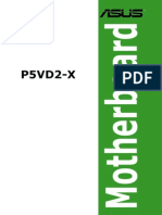 Manual Asus p5vd2-x