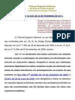 Resolresução nº 23.335_2011
