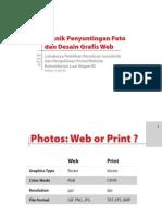 Teknik Penyuntingan Foto dan Desain Grafis Web