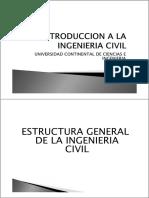 05 Quinta Clase - Estructura General de La Ingenieria Civil Parte A