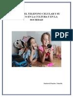 EL USO DEL TELEFONO CELULAR Y SU IMPACTO EN LA CULTURA Y EN LA SOCIEDAD