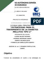 ESTRATEGIAS PARA EL TRATAMIENTO DE LA DIABETES MELLITUS TIPO 2