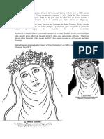 1Isabel Flores de Oliva Nació en El Barrio de Monserrate