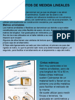 Instrumentos de Medida Lineales