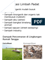 Klasifikasi Limbah Padat