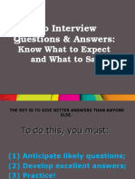 Job interview.ppt
