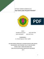 Laporan Referat - Manifestasi Kutan Pada HIV AIDS