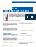 Teoria Del Financiamiento